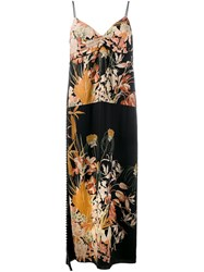 N 21 No21 Floral Slip Dress Black