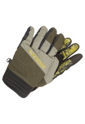Quiksilver Method Gloves Green Brown