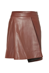 3.1 Phillip Lim Leather Flare Skirt