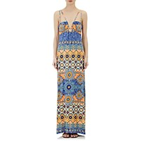 Philosophy Di Alberta Ferretti Women's Jersey Maxi Dress Size 0 Us No Color
