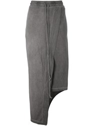 Lost And Found Rooms Asymmetric Skirt Trousers Grey