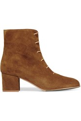 Atp Atelier Sun Suede Ankle Boots Brown