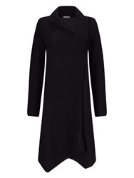 Phase Eight Bellona Waterfall Coat Black