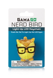 Forever 21 Nerd Bird Light Up Keychain
