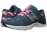 New Balance Wx711v2 Guava Graphic Women's Cross Training Shoes Blue