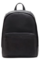 Vince Camuto Men's 'Tolve' Mesh Leather Backpack Black Black Black