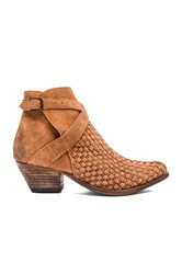 Free People Ventura Ankle Booties Cognac