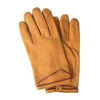 Thomasine Gloves Helsinki Glove Edge Lines Cereal Yellow Orange