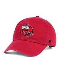 '47 Brand Western Kentucky Hilltoppers Clean Up Cap Red