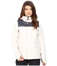 686 Authentic Runway Insulated Jacket Birch Color Block Women's Jacket White