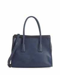 French Connection Iris Faux Leather Tote Bag Black