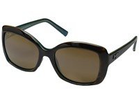 Maui Jim Orchid Tortoise Peacock Hcl Bronze Polarized Fashion Sunglasses Brown