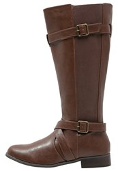 Evans Laos Boots Brown