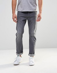 G Star G Star Jeans Revend Straight Fit Stretch Light Grey Wash Medium Aged