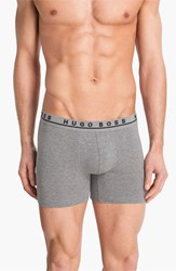Men's Boss 'Cyclist' Boxer Briefs Heather Grey Charcoal Black