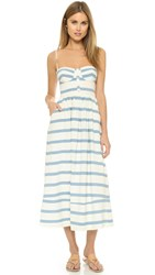 Mara Hoffman Bustier Maxi Dress White