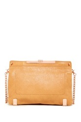 Botkier Gansevoort Leather Clutch Brown
