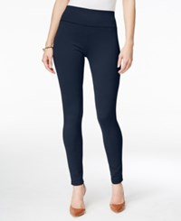 Inc International Concepts Petite Pull On Seamless Leggings Only At Macy's Deep Twilight