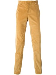 Natural Selection 'Corn' Corduroy Cigarette Trousers Yellow Orange