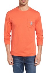 Southern Tide Men's Hanging With The Buoys Graphic T Shirt Hot Coral