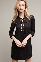 Anthropologie Imogen Shirtdress Black