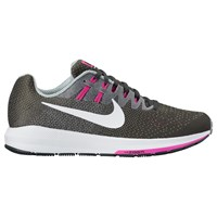 Nike Air Zoom Structure 20 Women's Running Shoes Anthracite White Wolf Grey Fire