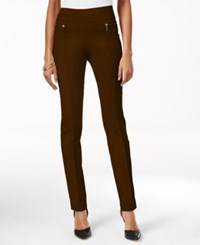 Styleandco. Style Co. Petite Skinny Pull On Pants Only At Macy's Rich Truffle