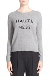Women's Milly 'Haute Mess' Cashmere Sweater