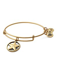 Alex And Ani Star Of Strength Charm Bangle Gold