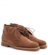 Loro Piana Vars Suede Desert Boots Brown