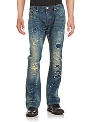 Cult Of Individuality Distressed And Splatter Jeans Detox