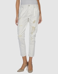Seal Kay Independent Denim Capris Ivory