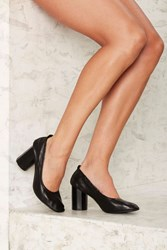 Grey City Sam Ballet Heel Black
