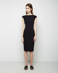 The Row Darta Dress Black