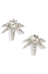 Sole Society Women's Crystal Starburst Stud Earrings