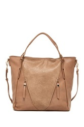 Urban Expressions Jak Vegan Leather Slouch Tote Beige