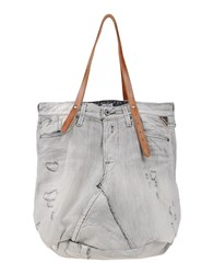 Replay Bags Handbags Women Grey
