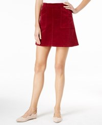 Maison Jules A Line Mini Skirt Only At Macy's Bright Rhubarb