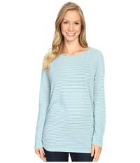 Carve Designs Cannon Long Sleeve Bluebird Women's Clothing