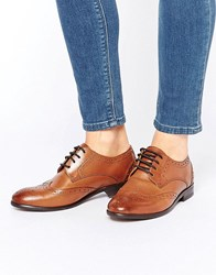 Hudson London H By Paddy Brogues Tan Leather