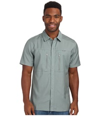Icebreaker Oreti S S Shirt Shale Men's Clothing Brown