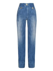Etoile Isabel Marant Fluffy High Rise Flared Jeans