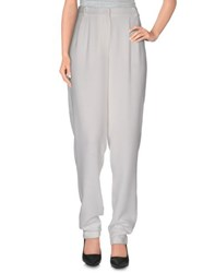 Essentiel Trousers Casual Trousers Women White