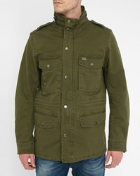 Diesel Khaki Rico Llc Military Jacket