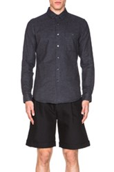 Patrik Ervell Stitchless Button Down Shirt In Gray