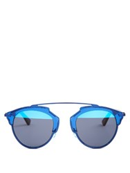 Christian Dior So Real Sunglasses Blue Multi