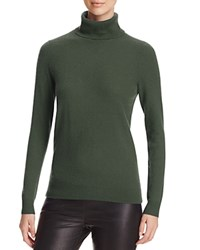 Bloomingdale's C By Cashmere Turtleneck Sweater Loden