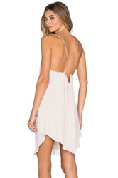Rory Beca Tambourine Dress Beige