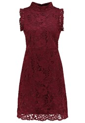 Ted Baker Latoya Cocktail Dress Party Dress Oxblood Dark Red