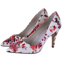 Rainbow Club Valentina Floral Print Court Shoes Multi